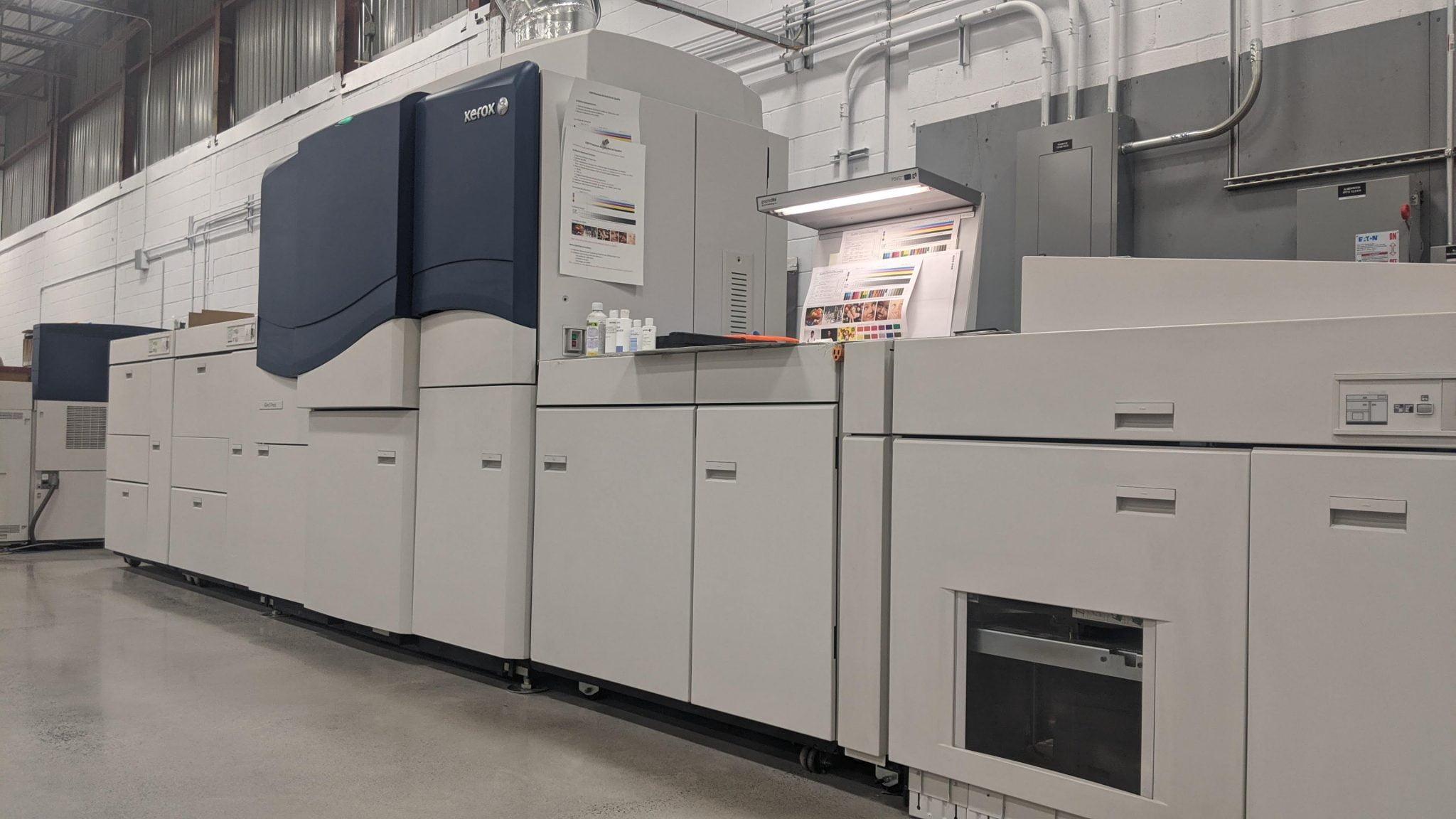 Presse numérique Xerox iGen5