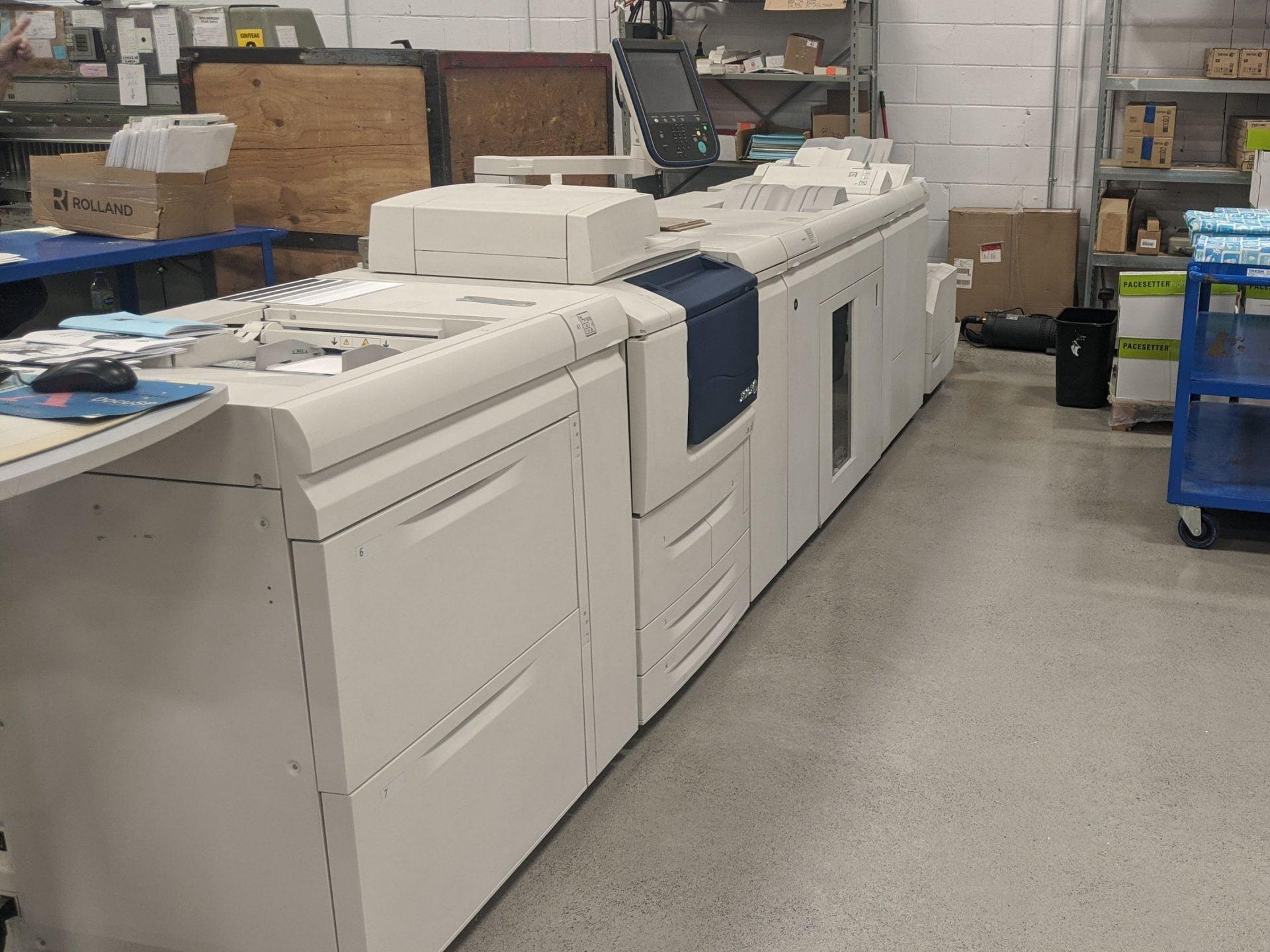 Presse numérique Xerox D125