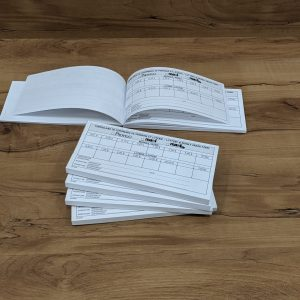 Printing an order book as a booklet