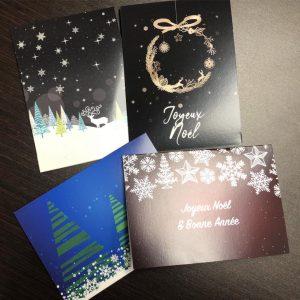 Impression de cartes de Noel