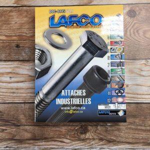 Impression de catalogues de pièces de Lafco - fermé