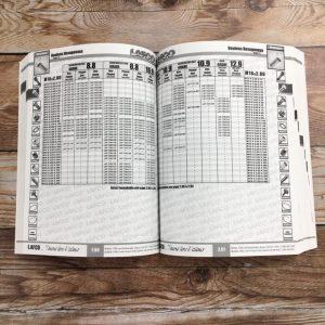 Impression de catalogues de pièces de Lafco - ouvert