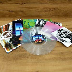 Impression de pochette de disque vinyle de différents formats